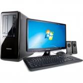 Computador Positivo Premium PC TV Intel Core i3 2100 3.1GHz 4GB 500GB DVD-RW Windows 7